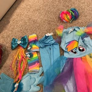 Other - Toddler rainbow dash costume